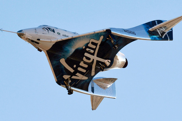 Moederschip Virgin Galactic maakt rechtsomkeer na technische problemen