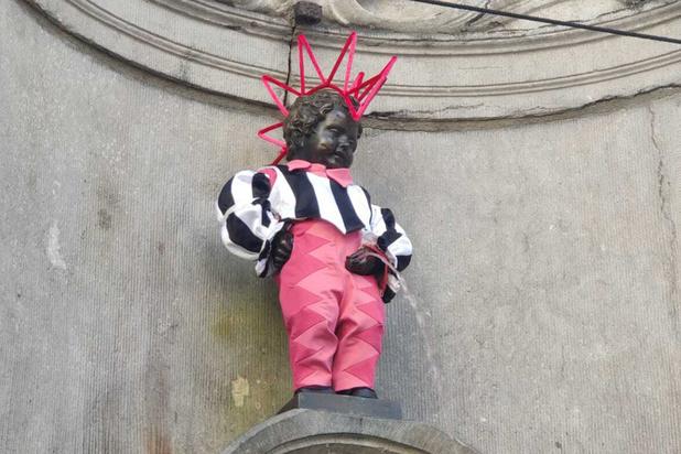 Le Manneken-Pis ajoute une nouvelle tenue 100% queer à sa garde-robe