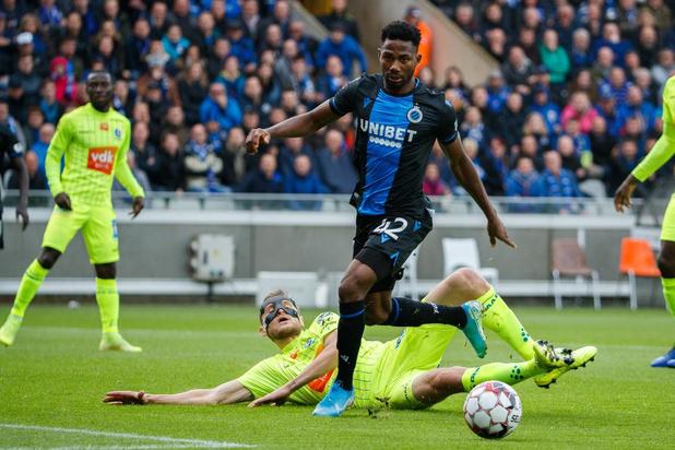 Club Brugge rekent eenvoudig af met AA Gent
