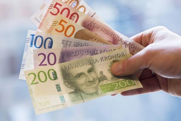Ruimte voor herstel voor de Zweedse kroon
