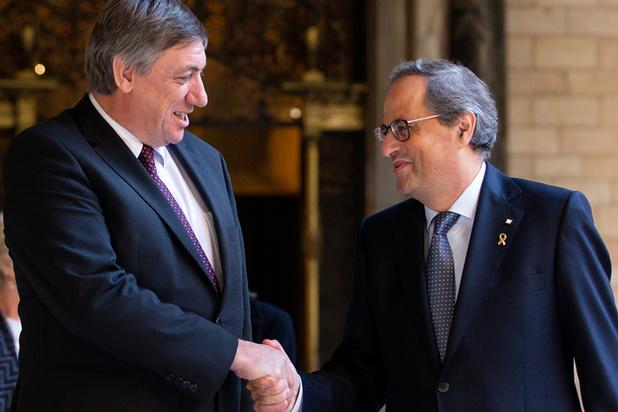 Jambon richt zich tot Michel en Reynders: 'Catalaanse politieke gevangenen brengen derde kerst door in cel'