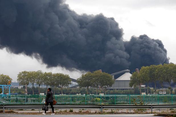 Inendie à Rouen : voici les résultats d'analyses liés au risque de pollution