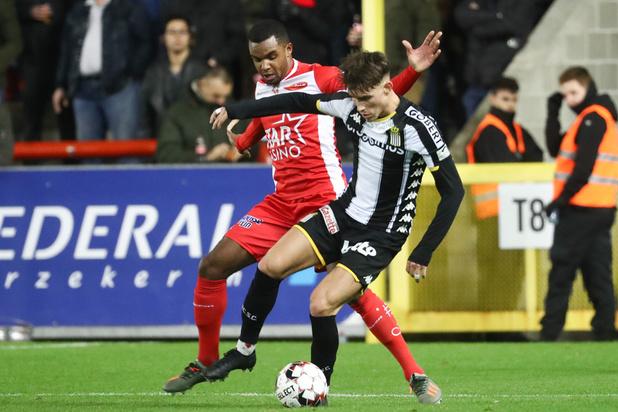 Charleroi partage l'enjeu à Mouscron (1-1) et grimpe provisoirement à la troisième place