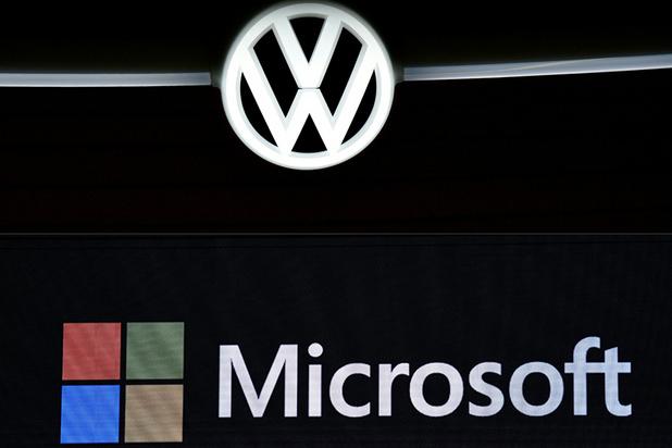 Alliance Volkswagen-Microsoft dans la conduite autonome et connectée