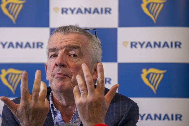 Ryanair blijft in de rode cijfers