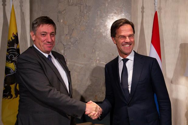 Jambon réserve à Rutte son premier déplacement de ministre-président