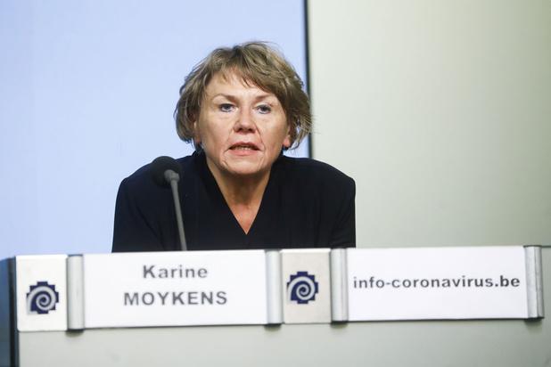 Topvrouw contactopsporing Karine Moykens moet coronavirus klein krijgen