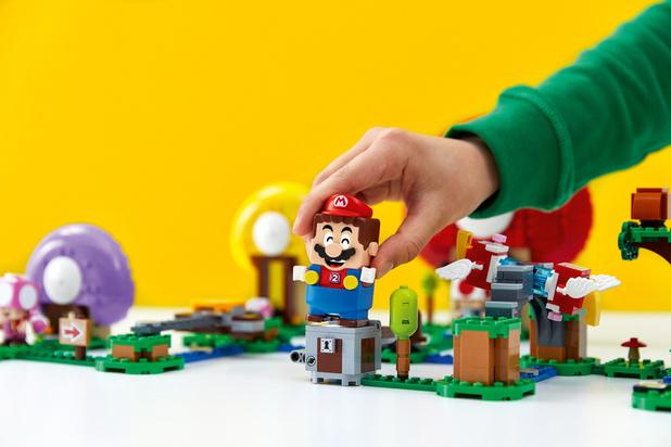 Lego et Nintendo transposent Super Mario dans le réel