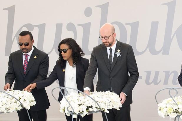 """Rwanda: Charles Michel admet """"une part de responsabilité"""" de la Belgique dans le génocide de 1994"""