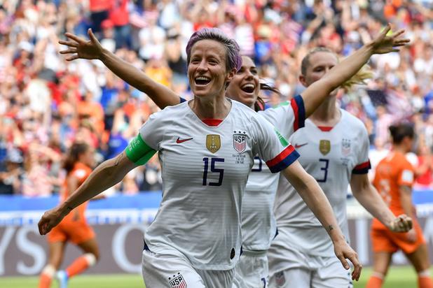 Les Américaines championnes du monde pour la 4e fois