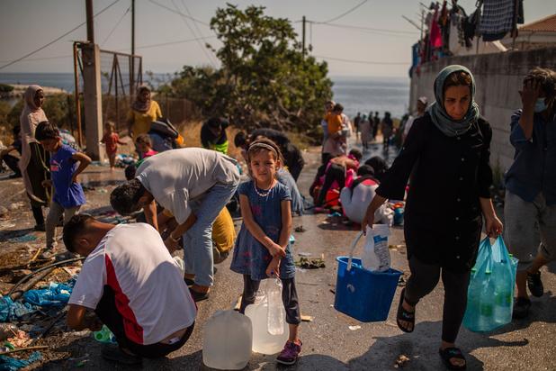 Moria: La Belgique accueillera 100 à 150 demandeurs d'asile vulnérables