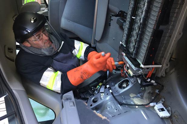 97,3 procent van een afgedankt voertuig in België wordt gerecycleerd