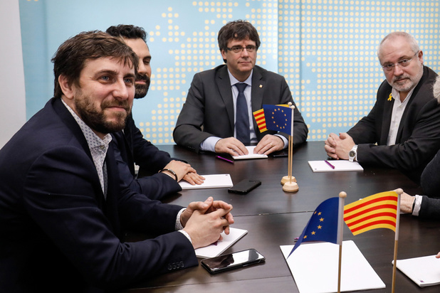 Mandats d'arrêt européens: la chambre du conseil de bruxelles se penche sur le sort de Puigdemont, Comin et Puig