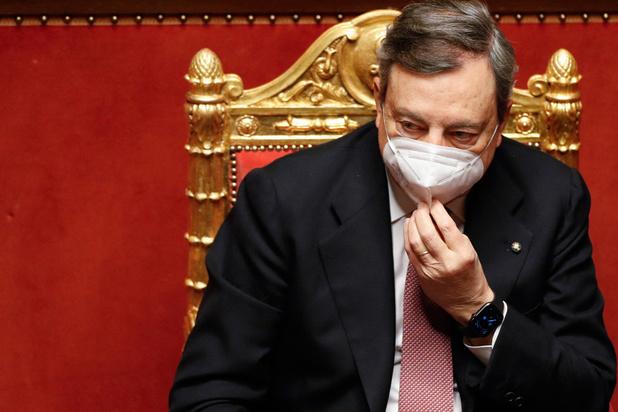 """Draghi veut """"reconstruire"""" l'Italie"""