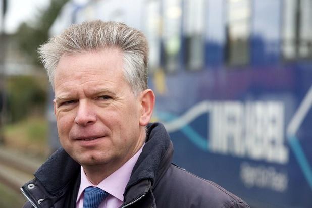 L'administrateur-délégué d'Infrabel Luc Lallemand proposé à la tête de la SNCF Réseau