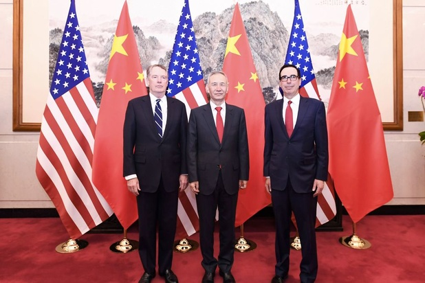 Onderhandelingen tussen China en VS over handelsoorlog leveren voorlopig niets op