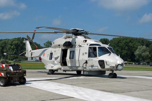 Une centième vie sauvée pour les nouveaux hélicoptères NH90 de Coxyde