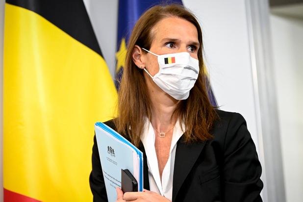 """Sophie Wilmès aux soins intensifs: son état de santé est """"rassurant"""""""