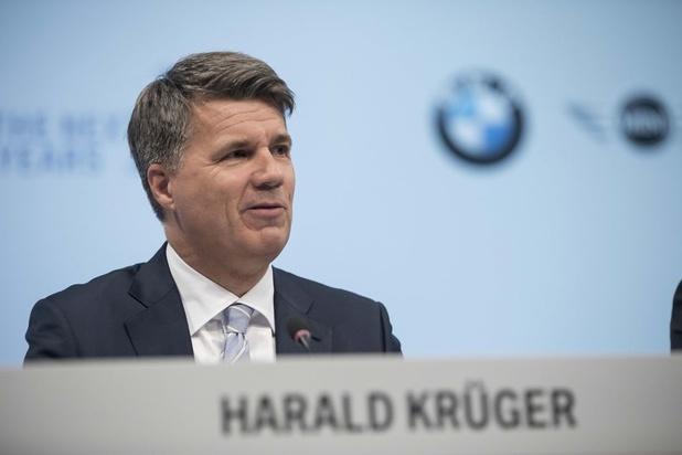BMW-topman Harald Krüger koopt tijd ten koste van eigen geloofwaardigheid