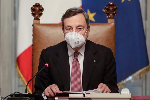 Draghi présente son plan de relance pour l'Italie
