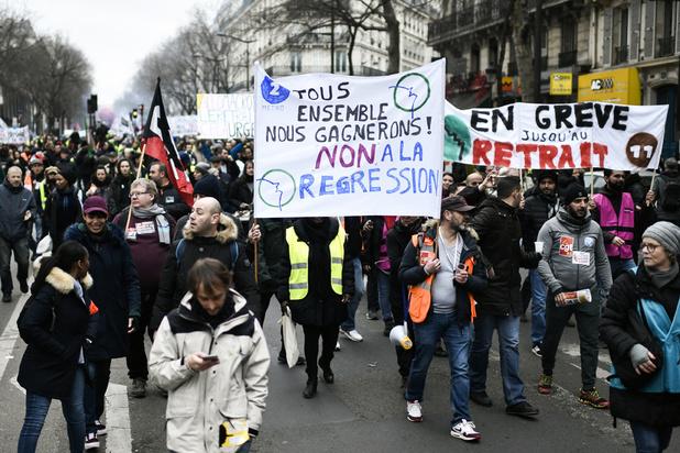 Record pour une grève en continu dans les transports depuis 30 ans