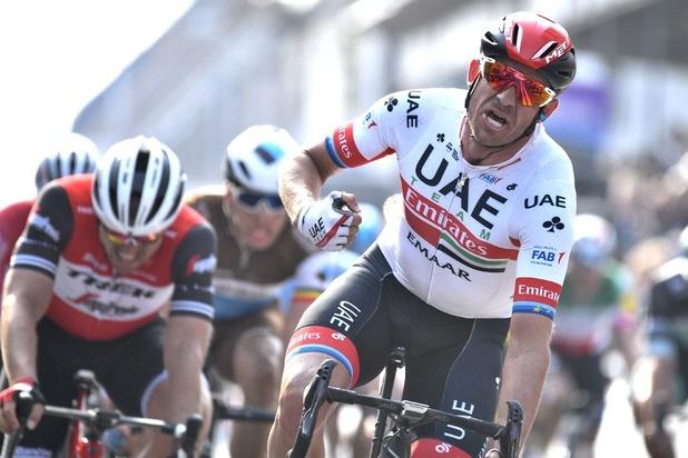 Alexander Kristoff sprint naar zege in Gent-Wevelgem, Naesen derde