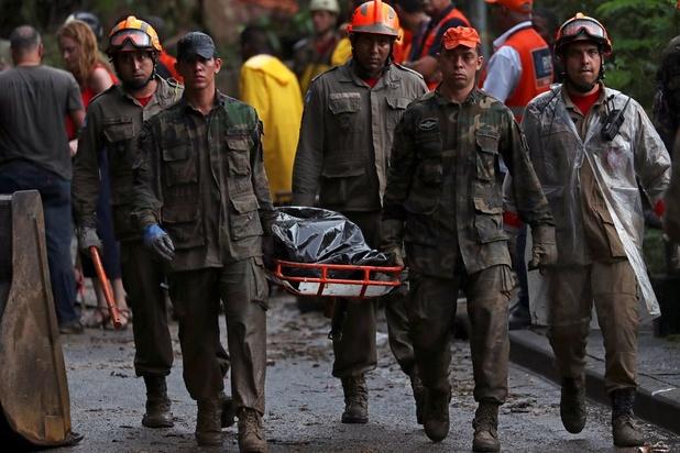 Les pluies torrentielles font au moins dix morts à Rio