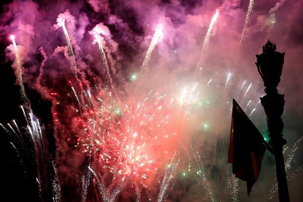 Nouvel An : recours fédéral contre l'interdiction flamande des feux d'artifice