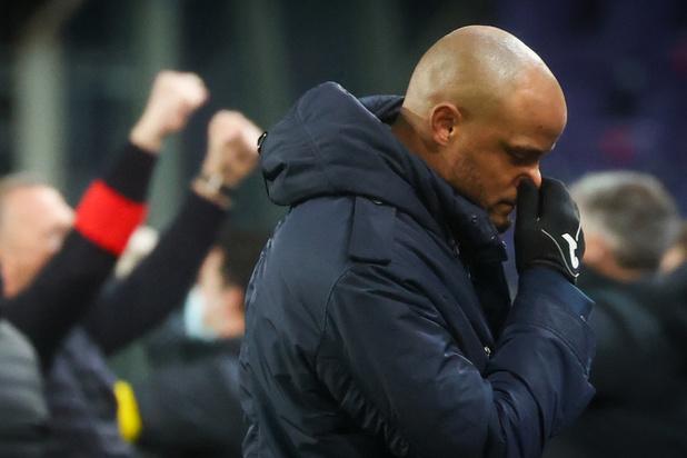 Anderlecht n'ira pas en finale de la Croky Cup