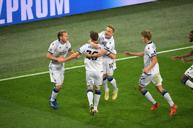 Le Club de Bruges arrache de justesse la victoire au Zénith Saint-Pétersbourg