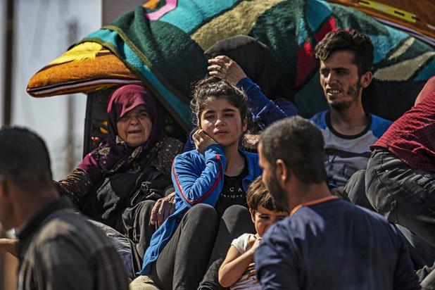 VN: 'Tienduizenden mensen op de vlucht na Turkse inval in Syrië'