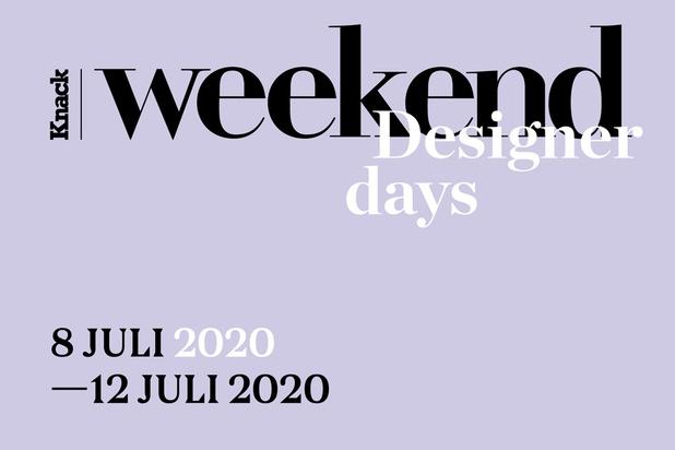 Knack Weekend Designer Days gaan door van 8 tot 12 juli