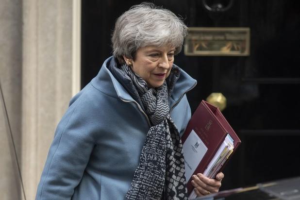 May's kansen op een brexitakkoord slinken zienderogen