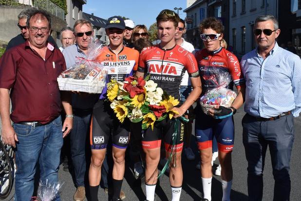 Luca D'Hollander wint in Tiegem