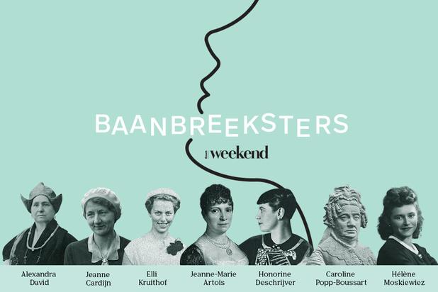 Beluister hier 'Baanbreeksters', de podcast van Knack Weekend