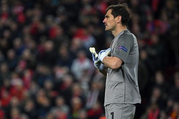 Iker Casillas, victime d'un arrêt cardiaque, rassurant sur son état de santé