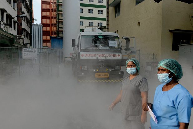 Inde: nouveau record mondial de contaminations