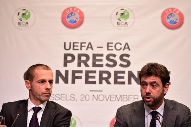 UEFA wacht voorlopig met hervormingsgesprekken Champions League