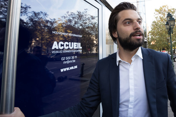 Georges-Louis Bouchez (MR) wil de rechtse Franstalige stemmen binnenhalen