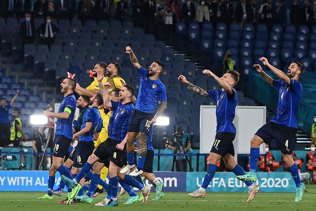 EURO 2021: L'Italie domine la Suisse 3-0 et valide son ticket pour les huitièmes de finale