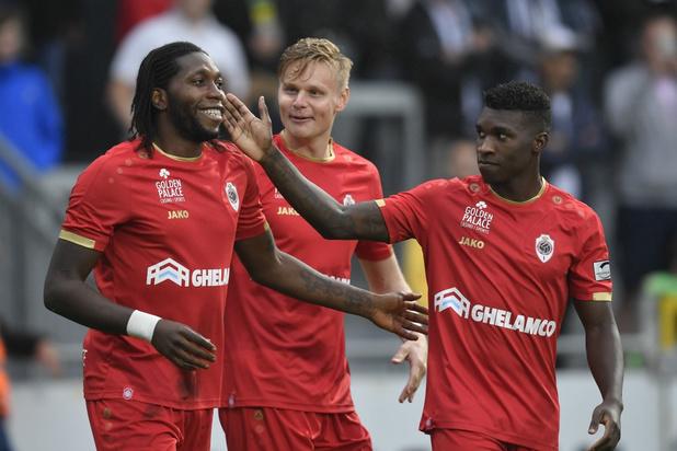 Antwerp wint op een drafje in Eupen