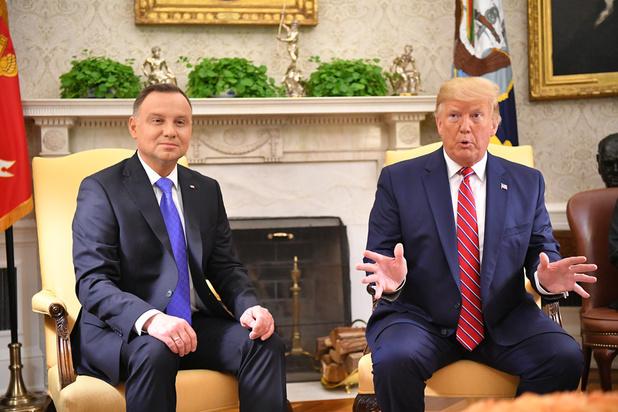 Trump: 'Polen gaat basis bouwen voor 1000 Amerikaanse troepen'