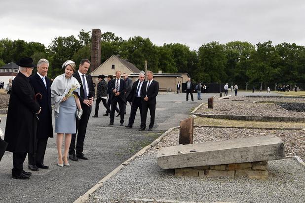 Philippe et Mathilde sur les traces des 4.200 Belges détenus à Buchenwald pendant la guerre