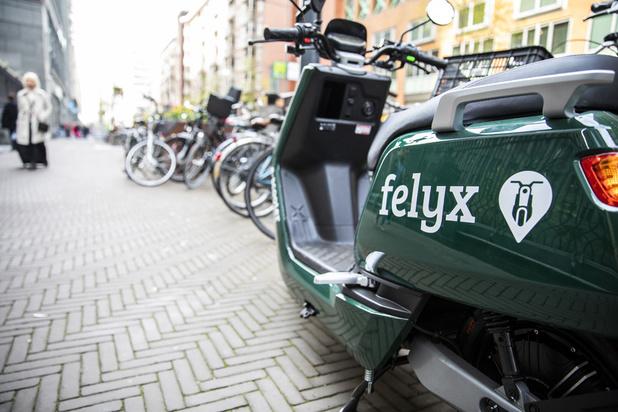 Les Néerlandais de Felyx débarquent à Bruxelles avec leurs scooters électriques