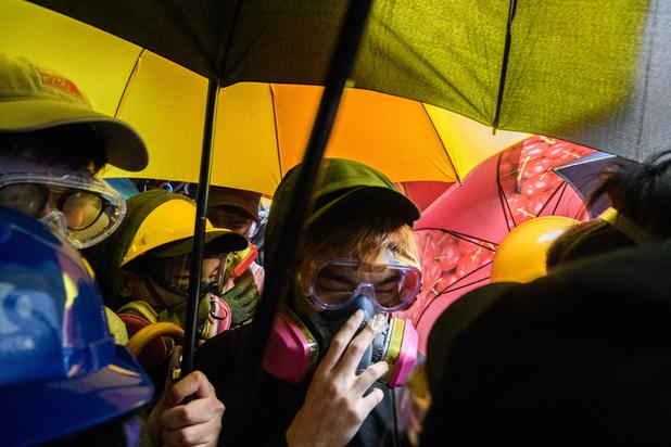 A Hong Kong, moral à zéro dans le campus assiégé