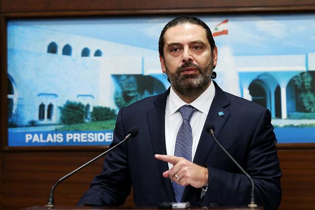 Onrust in Libanon: premier Saad Hariri kondigt ontslag aan