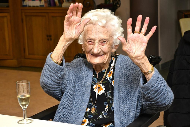 """Nelly Balcaen is een eeuw jong: """"ik doe gewoon voort"""""""