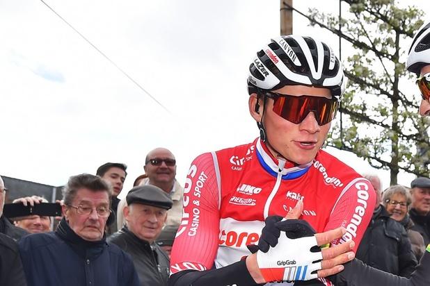 Mathieu van der Poel wint Dwars door Vlaanderen