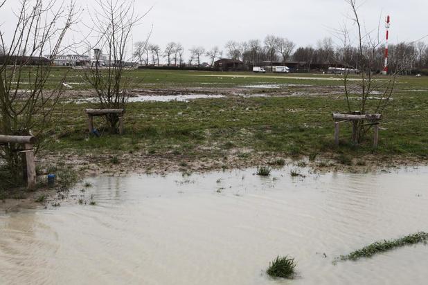 Speelt Rammstein straks in de modder? Oostendse evenementenweide staat onder water
