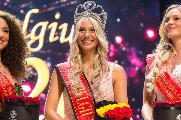 Celine Van Ouytsel devient Miss Belgique 2020